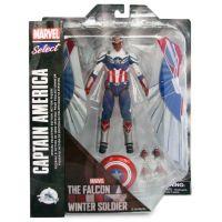 Figurina flexibila Avengers Bend and Flex, The Falcon, Winter Soldier (F0971)