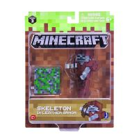 Figurina Minecraft Skeleton in Leather Armor MC16475