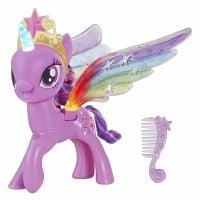 Figurina My Little Pony cu aripi stralucitoare Twilight Sparkle E2928