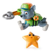 Figurina Paw Patrol Hero Pup Rocky in mission