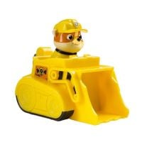Figurina Paw Patrol Jungle Rescue - Buldozer si Rubble 6022631