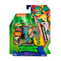 Figurina Testoasele Ninja Michelangelo Battle Shell