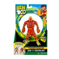 Figurina transformer Ben to Heatblast Ben 10