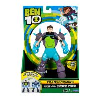 Figurina transformer Ben to Shock Rock Ben 10