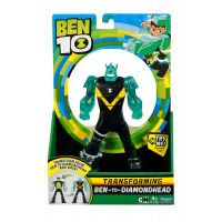 Figurina transformer Diamond Head Ben 10 76690