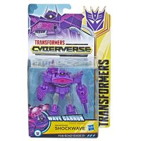 Figurina Transformers Cyberverse Action Attackers Warrior Shockwave