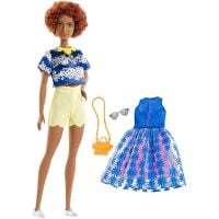 FJF67_2018_011w Papusa Barbie Fashionistas 100, Sweet Bloom, FRY80