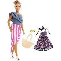 FJF67_2018_013w Papusa Barbie Fashionistas, Bon Voyage, FRY82