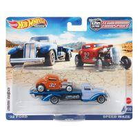 FLF56_014w Transportator cu masinuta Hot Wheels, Ford, Speed Waze, GRK53