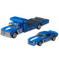 FLF56 GJT38 Transportator cu masinuta Hot Wheels, 69 Ford Mustang Boss 302, Retro Rig, 164
