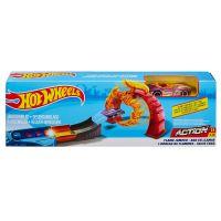 FTH79 FTH81 Set de joaca Circuit cu masinuta si obstacole Hot Wheels, Flame Jumper, FTH81