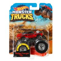 FYJ44_005w Masinuta Hot Wheels Monster Truck, Dodge Charger, GBT31