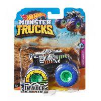 FYJ44_045w Masinuta Hot Wheels Monster Truck, Invader, GJF31