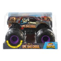 FYJ83_011w Masinuta Hot Wheels Monster Truck, 124, One Bad Ghoul, GBV39