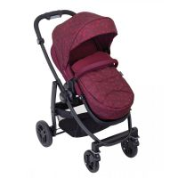 Carucior Graco Evo, Red Leopard