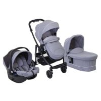 Carucior Graco Evo, 3 In 1, Steeple Gray