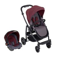 Carucior Graco Evo, 2 In 1, Ts Crimson