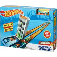 GBF81 GBF82 Set de joaca Circuit cu obstacole Hot Wheels, Dragstrip Champion GBF82