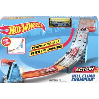 GBF81 GBF83 Set de joaca Circuit cu obstacole Hot Wheels, Hill Climb Champion GBF83