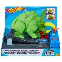GBF97_001w Set de joaca Hot Wheels - Smashin Triceratops