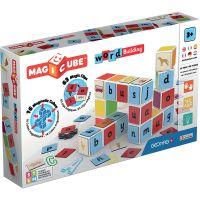 GEOM084_001w Joc de constructie magnetic Magic Cube, Word Building
