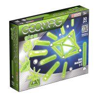 GEOM335_001w Joc de constructie magnetic Geomag Glow, 30 piese