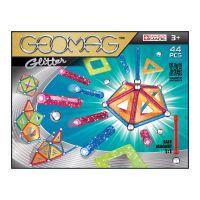 GEOM532_001 Joc de constructie magnetic Geomag Glitter, 44 piese