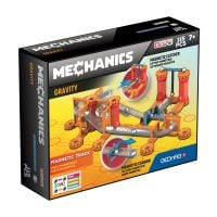 GEOM772_001w Joc de constructie magnetic Geomag Mechanics Gravity Race Track, 115 piese