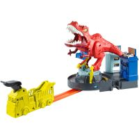 GFH88_001w Circuit Hot Wheels, set de joaca T-Rex