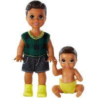 GFL30_001w Set Papusa Barbie Babbysitters, GFL32