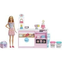 GFP59_001w Set de joaca Barbie - Insula de cofetarie