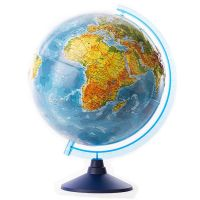 GG-INT-25RUN_001w Glob geografic in relief cu interactivitate VR Eurodidactica, 25 cm