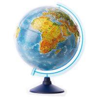 GG-INT-32RUN_001w Glob geografic in relief cu interactivitate VR Eurodidactica, 32 cm