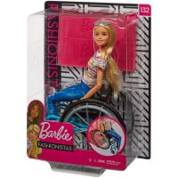 GGL22_001w Papusa Barbie Fashionistas, In scaun cu rotile