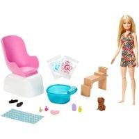 GHN07_001w Set de joaca Barbie, Salonul de manichiura