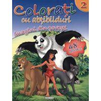 Girasol - Colorati cu abtibilduri 2 - Imagini din povesti
