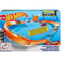 GBF81 GJM75 Set de joaca Circuit cu obstacole Hot Wheels, Rapid Raceway Champion GJM75