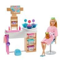 GJR84_001w Set de joaca Barbie, O zi la salonul de spa