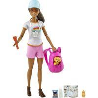 GKH73_004w Set de joaca Papusa Barbie cu accesorii Welness GRN66