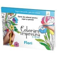 Carte Editura Gama, Coloram impreuna, Flori