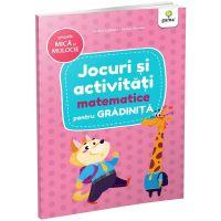 Carte Editura Gama, Jocuri si activitati matematice pentru gradinita grupa mica si mijlocie