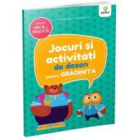Carte Editura Gama, Jocuri si activitati de desen pentru gradinita grupa mica si mijlocie