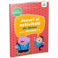 Carte Editura Gama, Jocuri si activitati de desen pentru gradinita grupa mare