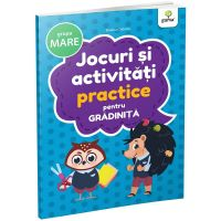 Carte Editura Gama, Jocuri si activitati practice pentru gradinita grupa mare