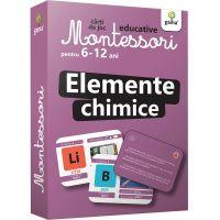 Carti de joc educative Montessori, Elemente chimice 6-12 ani
