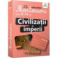 Carti de joc educative Montessori, Civilizatii si imperii 6-12 ani