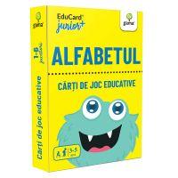 Editura Gama, Carti de joc educative Junior Plus, Alfabetul