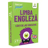 Editura Gama, Carti de joc educative Junior Plus, Limba engleza