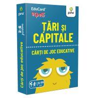 Editura Gama, Carti de joc educative Expert, Tari si capitale