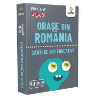 Editura Gama, Carti de joc educative Expert, Orase din Romania